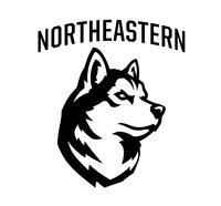 Northeastern University Department of Athletics Logo
